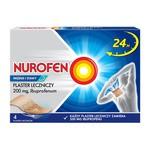 Nurofen Mięśnie i Stawy, 200 mg, plastry lecznicze, 4 szt.