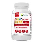Wish Cynk do ssania junior 5 mg, tabletki, 60 szt.