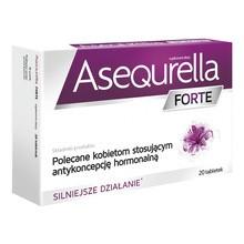 Asequrella Forte, tabletki, 20 szt.