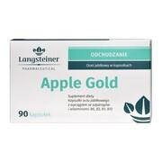 Apple Gold, kapsułki octu jabłkowego z wyciągiem ze szparagów i witaminami, 90 szt.