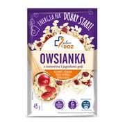 Plan by DOZ Owsianka z żurawiną i jagodami goji, 45 g