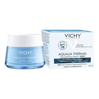 Vichy Aqualia Thermal Legere, krem nawilżający, lekki, 50 ml
