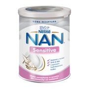 Nestle Nan Expert Sensitive, mleko początkowe dla niemowląt od urodzenia 400 g