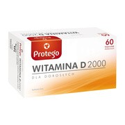 Protego Witamina D 2000, kapsułki elastyczne, 60 szt.