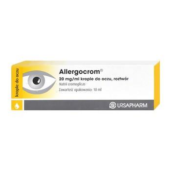Allergocrom, 20 mg/ml, krople do oczu, 10 ml