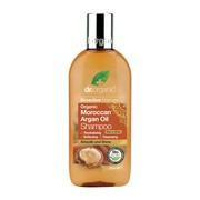 Dr. Organic Moroccan Argan Oil, szampon do włosówz olejkiem arganowym, 265 ml