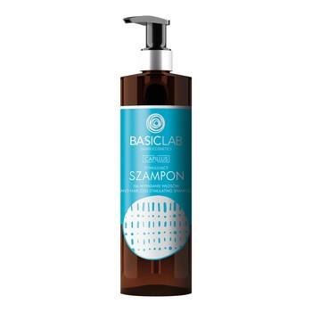 BasicLab Capillus, stymulujący szampon przeciw wypadaniu włosów, 300 ml