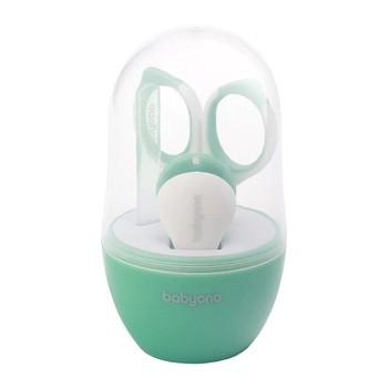 Baby Ono, zestaw do pielęgnacji paznokci dla dzieci i niemowląt, seledynowy, 1 szt.