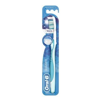 Oral-B 3D White, szczoteczka, medium, 40, 1 szt.