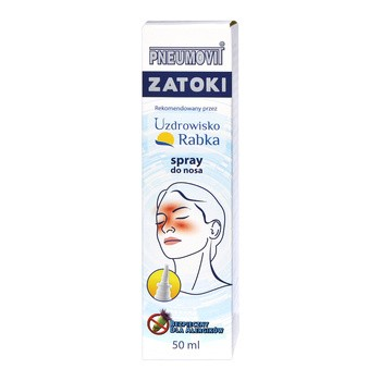 Pneumovit Zatoki, spray do nosa, 50 ml