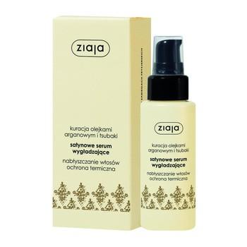 Ziaja Arganowa, satynowe serum wygładzające do włosów, 50 ml
