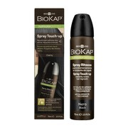 Biokap Nutricolor Delicato Spray Touch Up, spray na odrosty, czarny, 75 ml
