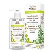 Green Pharmacy, normalizujący żel do higieny intymnej, kora dębu i drzewo herbaciane, 300 ml