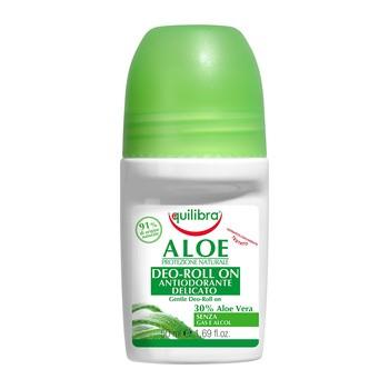 Equilibra, aloesowy dezodorant w kulce, 50 ml