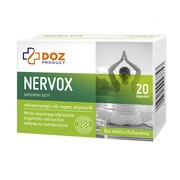 DOZ PRODUCT Nervox, kapsułki żelatynowe, 20 szt.