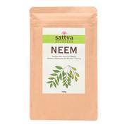 Sattva Herbal Neem Powder, ziołowa maseczka do włosów i twarzy, 100 g
