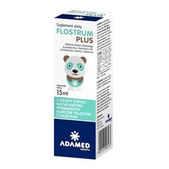 Flostrum Plus, krople, 15 ml