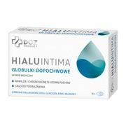 DOZ PRODUCT HialuIntima, nawilżające globulki dopochwowe, 10 szt.