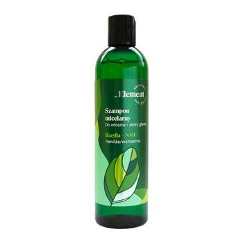 Vis Plantis Basil Element, szampon micelarny do włosów i skóry głowy, bazylia + NMF, 300 ml