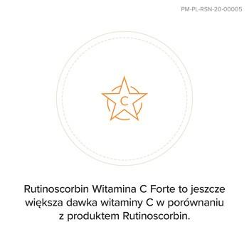 Rutinoscorbin Witamina C Forte (Active C), 500 mg, kapsułki twarde o przedłużonym uwalnianiu, 30 szt.