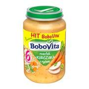 BoboVita, zupka rosołek z kurczaka z ryżem, 6 m+, 190 g