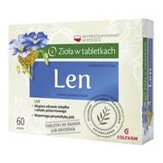 Len, tabletki do ssania, 60 szt.
