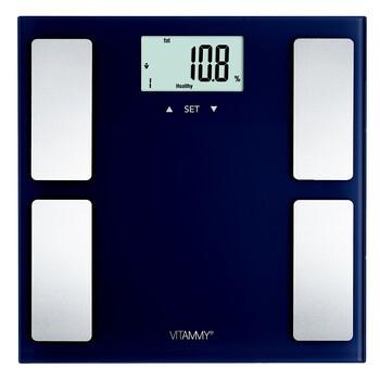 Vitammy Horizon Federal Blue, waga z analizatorem składu ciała, 7 w 1, 1 szt.