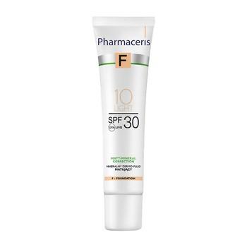 Pharmaceris F, mineralny dermo-fluid matujący SPF 30, 10 Light, 30 ml