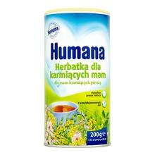 Humana Herbatka dla karmiących mam, granulat,  200 g