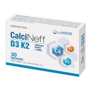 CalciNeff D3 K2, tabletki, 30 szt.