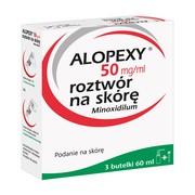 Alopexy, 5 %, roztwór na skórę, 60 ml x 3 butelki PET