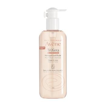Avene Eau Thermale Trixera Nutri-Fluid, żel oczyszczający do twarzy i ciała, 400 ml