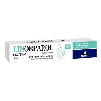 Linoeparol Intensive, maść kosmetyczna, 20% oleju z nasion wiesiołka, 30 ml