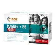 DOZ PRODUCT Magnez + B6 Forte, kapsułki, 60 szt.
