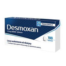 Desmoxan, 1,5 mg, tabletki powlekane, 100 szt.