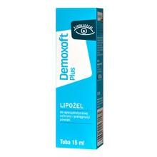 Demoxoft Plus, lipożel do specjalistycznej ochrony i pielęgnacji powiek, 15 ml
