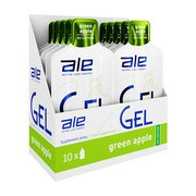 Zestaw ALE Active Life Energy, Gel Green Apple, 10 szt.