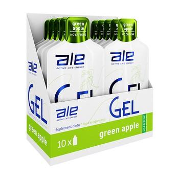 Zestaw ALE Active Life Energy, Gel Green Apple, 10 szt.