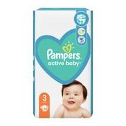 Pampers Active Baby 3 (6−10 kg), pieluszki jednorazowe, 58 szt.