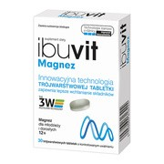 Ibuvit Magnez, tabletki trójwarstwowe, 30 szt.
