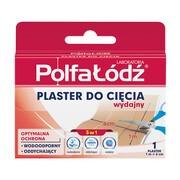 Laboratoria Polfa Łódź Plaster do cięcia, 1 m x 6 cm, 1 szt.