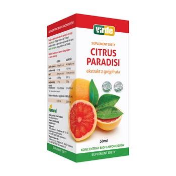 Citrus Paradisi, krople - ekstrakt z grejpfruta, 50 ml