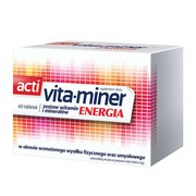 Acti Vita-miner Energia (Vita miner Energia), tabletki, 60 szt.