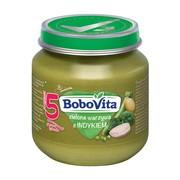 Bobo Vita, zielone warzywa z indykiem, 125 g