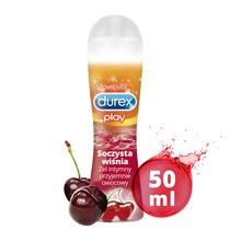 Durex Play Soczysta Wiśnia, żel intymny przyjemnie owocowy, 50 ml