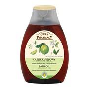 Green Pharmacy, olejek do kąpieli z bergamotą i limonką, 250 ml