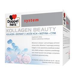 Doppelherz system Kolagen Beauty, płyn, 25 ml, ampułki, 30 szt.