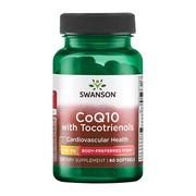 Swanson Koenzym Q10 100 mg z Tokotrienolami 10 mg, kapsułki żelowe, 60 szt.