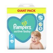 Pampers Active Baby 5 (11−16 kg), pieluszki jednorazowe, 64 szt.