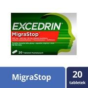 Excedrin MigraStop, tabletki powlekane, 20 szt.
